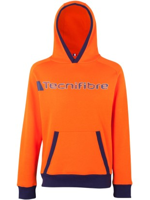 Tecnifibre kapucar TF Fleece Hoodie 2018 orange