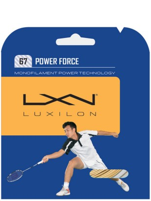 Badminton struna Luxilon Power force 67