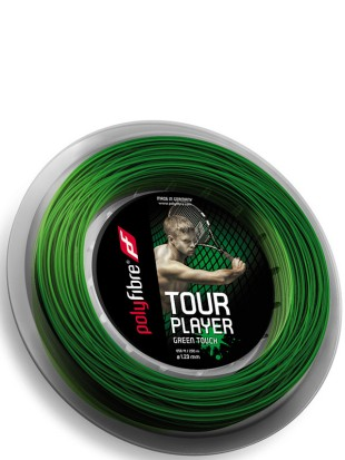 Tenis struna Polyfibre Tour Player Green Touch - kolut 200m