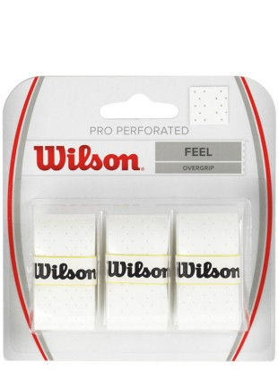 Wilson Pro Perforated Overgrip 3 pack