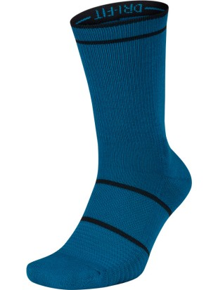 Nike nogavice Court Essentials Crew Tennis Socks Blue