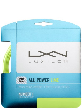 Tenis struna Luxilon Big Banger Alu Power Lime 1.25