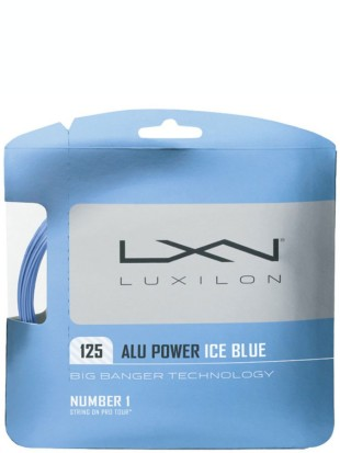 Tenis struna Luxilon Big Banger Alu Power Ice blue 1.25