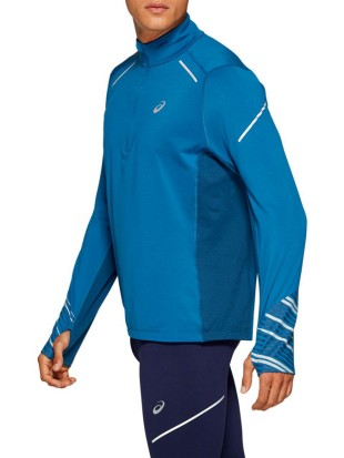 Asics moška majica Lite-Show Winter LS 1/2 Zip Top