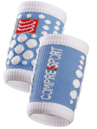 Znojnik Compressport SWEAT band 3D.dots moder
