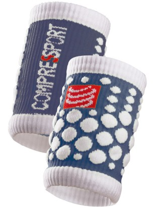 Znojnik Compressport SWEAT band 3D.dots vijoličen