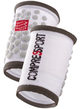 Znojnik Compressport SWEAT band 3D.dots bel