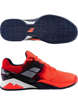 Tenis copati Babolat Propulse Fury Clay Red