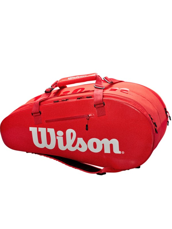 Torba Wilson Super Tour 2 compartment large red
