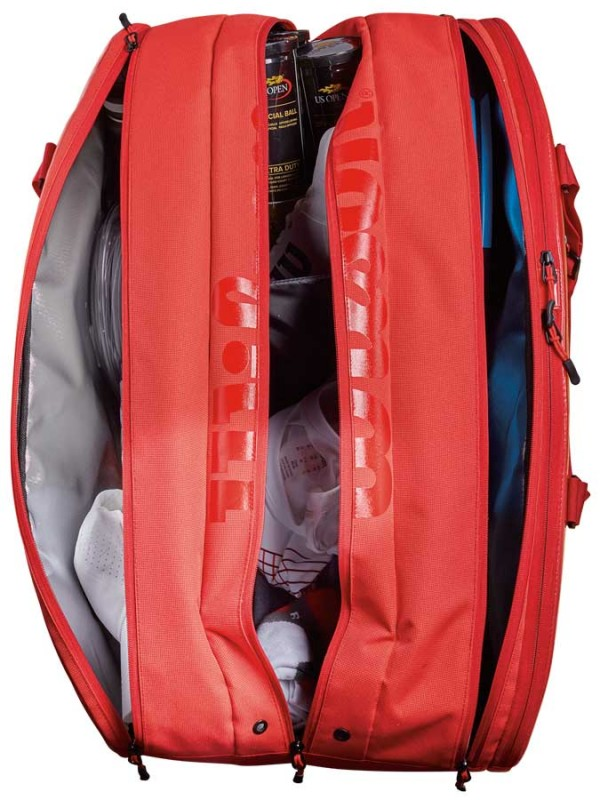 Torba Wilson Super Tour 3 compartment red