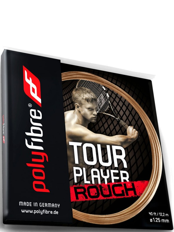 Tenis struna Polyfibre Tour Player Rough - set