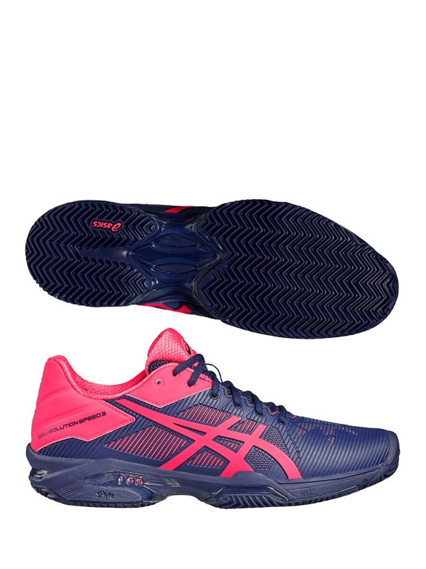 Ženski tenis copati ASICS Gel Solution Speed 3 - CLAY
