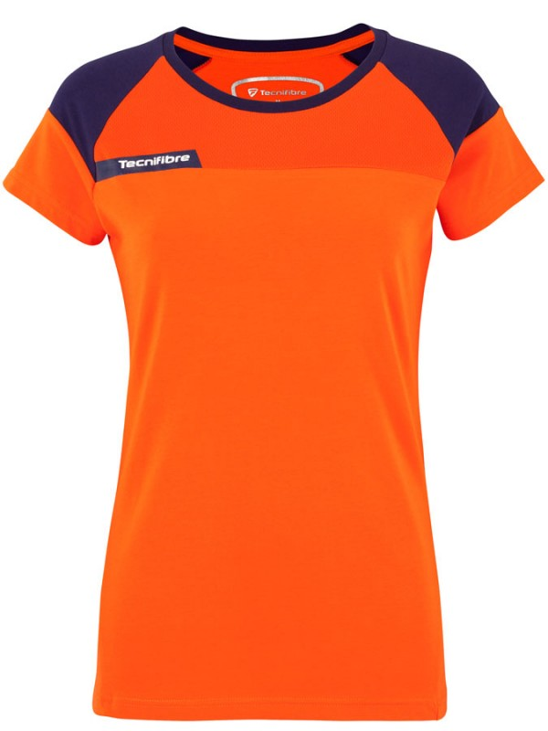 Tecnifibre ženska majica F1 Stretch Orange 2018